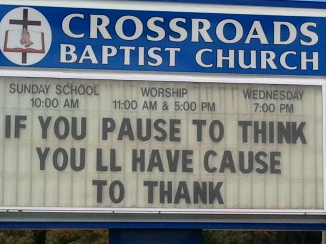 Attitude Of Gratitude…November 10, 2011