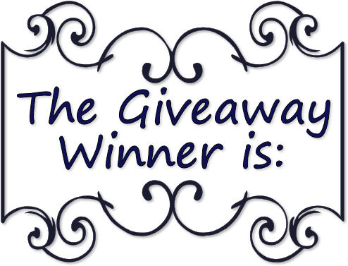 The Giveaway Winner Is