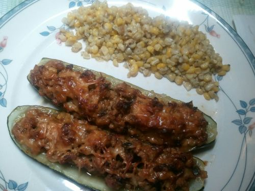 zucchini ready to eat